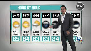 Updated Tuesday forecast - Video