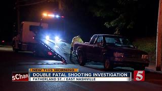 Police Investigate Double Fatal Shooting In East Nashville - Video