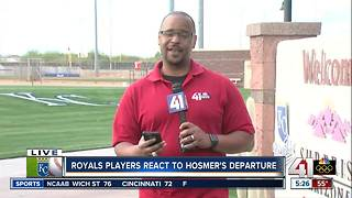 Royals react to Eric Hosmer's departure - Video