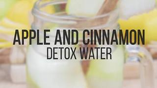 Apple and cinnamon detox water recipe