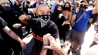 Counterprotesters Disrupt Conservative Free Speech Rally In Calif.