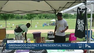 Greenwood District & Presidential Rally