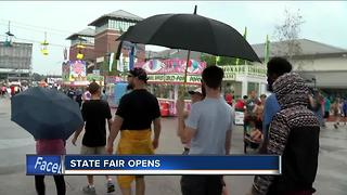 Opening day at State Fair - Video