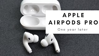 Apple AirPods Pro Review - A Year Later