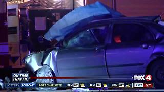 Colonial Boulevard reopenes after serious crash Thursday night - Video