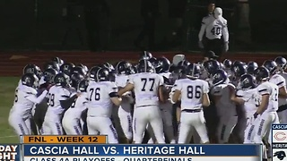 Heritage Hall vs Cascia Hall - Oklahoma High School Football - Video
