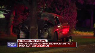 Mother under arrest after Detroit drunk driving accident, daughter critical - Video