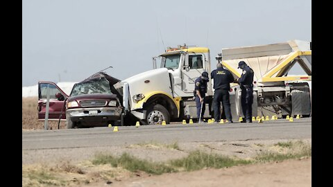 13 dead in California crash, some ejected from SUV carrying 25 people