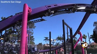 SeaWorld's latest roller coaster gears up for May opening