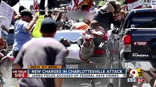 Charlottesville suspect James Alex Fields indicted on dozens of federal hate crime charges - Video