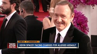 Kevin Spacey posts video after announcement of sexual assault charges