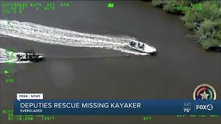 Kayaker Rescued in Collier County