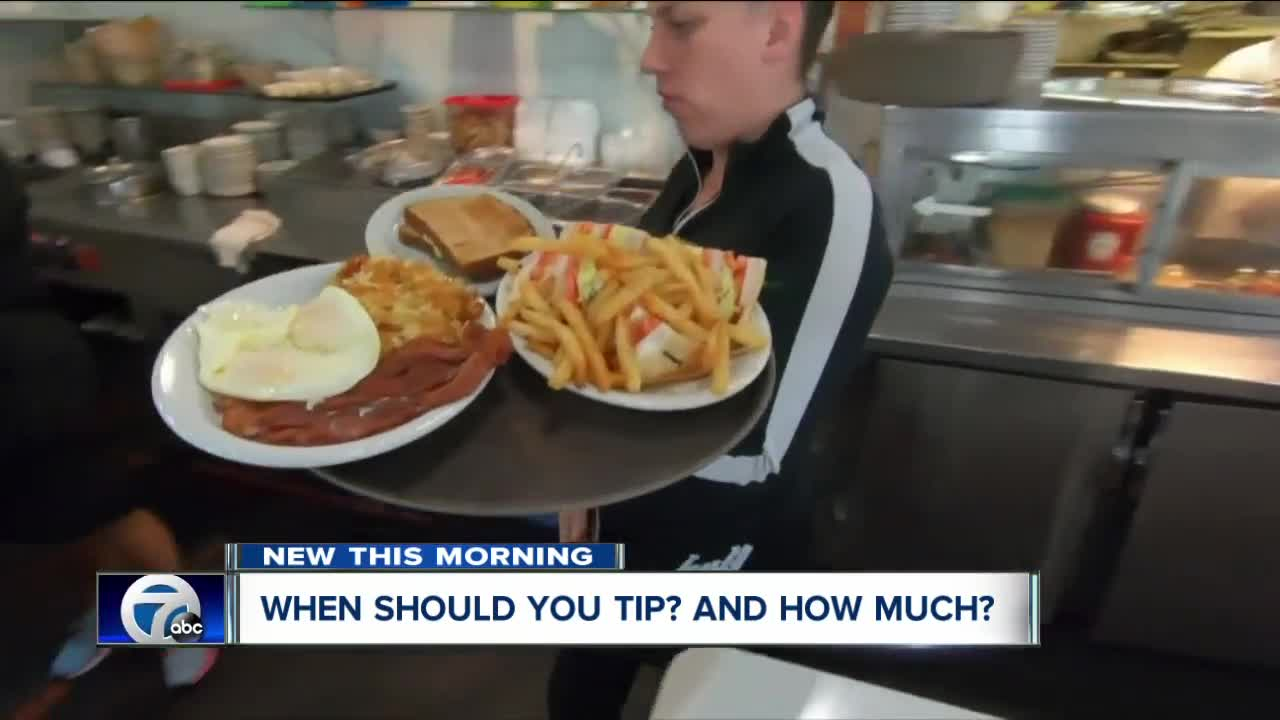 When should you tip and how much?