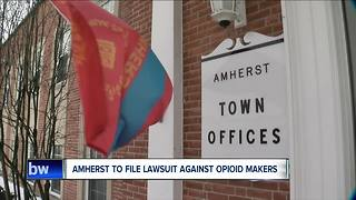 Amherst to file lawsuit against opioid makers - Video