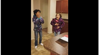 Kids Surprised With New Home After Being Homeless For A Year