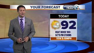 South Florida Tuesday morning forecast (7/17/18) - Video