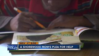 Shorewood Mom turns to Facebook to help son - Video