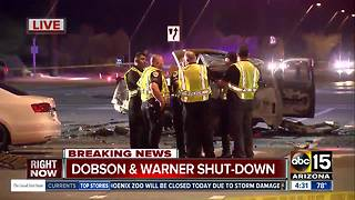 FD: One dead in fiery Chandler crash - Video