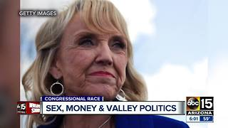 Congressional candidate calls accusations of inappropriate text messages 'false tabloid trash' - Video