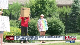Scurlock Protests Continue