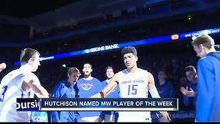 Hutchison Honored By Mountain West Conference - Video