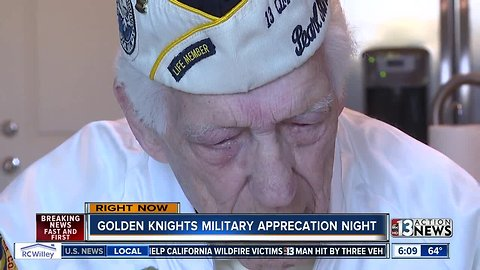95-year-old WW2 veteran to drop VGK puck