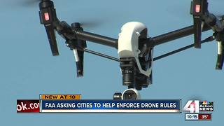 FAA wants local input in new drone regulations - Video