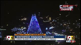 Kings Island getting Winterfest ready for big return - Video