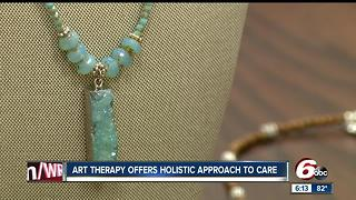 Art therapy offers holistic approach to care - Video