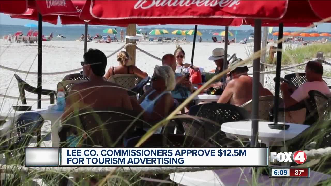 Lee County Commissioner's approve $12.5 million for tourism advertising