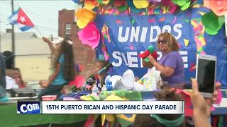 Puerto Rican and Hispanic Day of WNY Parade - Video
