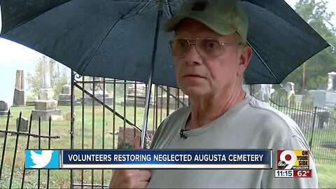 Volunteers want to 'lift the shame' off neglected Augusta cemetery