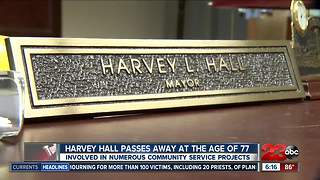 Harvey Hall was involved in numerous community service project