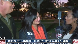 Bakersfield Homeless Center hosts 9th Annual Turkey Trot Walk and Run - Video