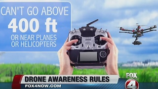 Drone awareness rules - Video