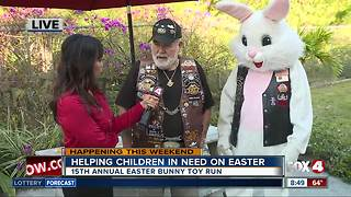 15th annual Easter Bunny Toy Run - Video