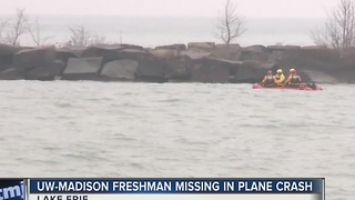 UW freshman missing following Ohio plane crash - Video