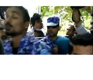 Maldivian Army Locks Down Country's Parliament - Video