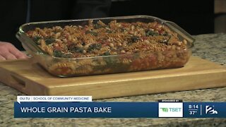 Shape Your Future Healthy Kitchen: Whole Grain Pasta Bake
