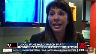 Local country music fans hold watch party - Video