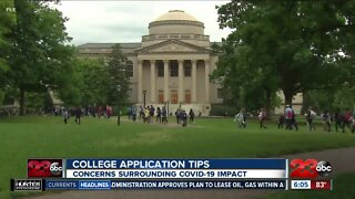 Local school counselors offer advice on college applications during the pandemic