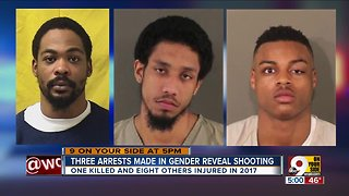 3 arrested in gender reveal party shooting