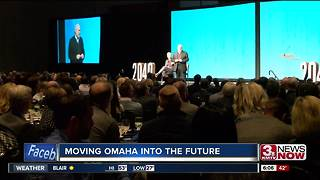 Omaha business leaders speak about City's 2040 project - Video
