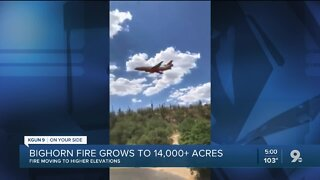 LIVE UPDATES: Bighorn Fire grows to 14,000+ acres, 22% contained