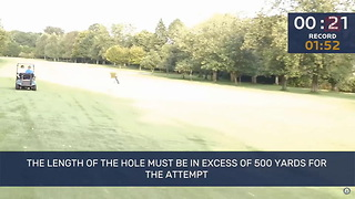 Watch The Fastest Hole Of Golf Ever Played - Video