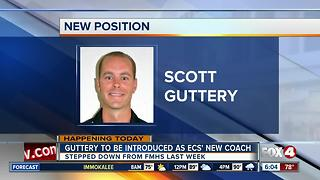 Guttery to be introduced as ECS coach at 11:00 Monday morning - Video