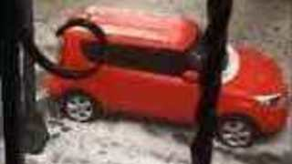 Spring Hail Storm Hits Mexico City - Video