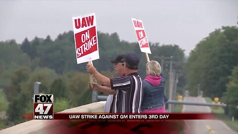 UAW strike stretches into third day