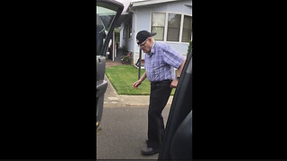 93-Year-Old Grandpa Does The Kiki Challenge - Video