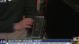 Thieves who robbed Scottsdale auction house overlooked $100 million prize - Video